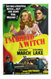 I Married a Witch, 1942 Poster