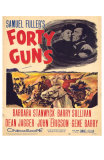 Forty Guns, 1957 Posters