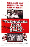 Teenagers From Outer Space, 1959 Posters