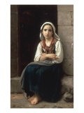 Yvonette, 1867 Giclee Print by William Adolphe Bouguereau