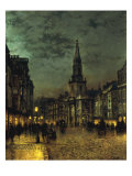 Blackman Street, Borough, London, 1885 Poster by John Atkinson Grimshaw