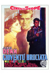 Rebel Without a Cause, Italian Movie Poster, 1955 Poster