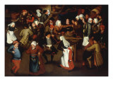 The Wedding Dance Giclee Print by Pieter Bruegel the Elder