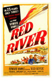 Red River, 1948 Affiches