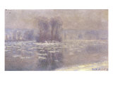 Glacons a Bennecourt, 1893 Prints by Claude Monet