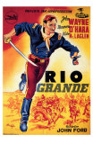 Rio Grande, Spanish Movie Poster, 1950 Posters