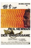 Cool Hand Luke, German Movie Poster, 1967 Photo