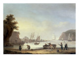 Teignmouth and the Ness, Devon, 1825 Prints by Thomas Luny