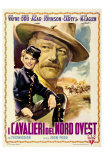 She Wore a Yellow Ribbon, Italian Movie Poster, 1949 Posters