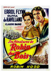The Adventures of Robin Hood, Belgian Movie Poster, 1938 Poster