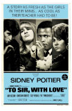 To Sir With Love, Australian Movie Poster, 1967 Poster
