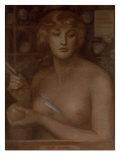 Venus Verticordia: A Study for Venus Prints by Dante Gabriel Rossetti