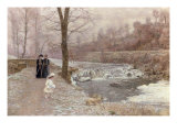 Promenade d'Hiver Giclee Print by Marie Francois Firmin-Girard