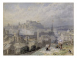 Edinburgh Prints by Myles Birket Foster