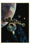 2001: A Space Odyssey, 1968 Print