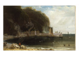 View of Clovelly, North Devon, 1813 Print by William Daniell