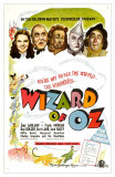 The Wizard of Oz, UK Movie Poster, 1939 Plakater