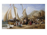 At the Seaside, Hastings, 1854 Prints by William Parrott