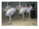 At the Barre, 1888 Reproduction procédé giclée par Pierre Carrier-belleuse