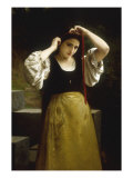 La Toilette Rustique, 1869 Posters by William Adolphe Bouguereau