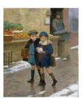 Good Friends Print by Victor Gabriel Gilbert