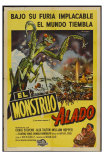 The Deadly Mantis, Argentine Movie Poster, 1957 Posters