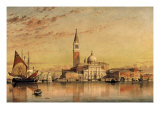 San Giorgio Maggiore, Venice, 1857 Giclee Print by Edward William Cooke