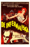 Carnival of Souls, Swedish Movie Poster, 1962 Plakaty