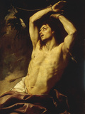 Saint Sebastian Giclee Print by Gian Battista Beinaschi