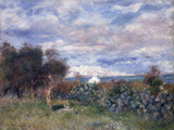 La Baie d'Alger, 1881 Print by Pierre-Auguste Renoir