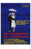 The Umbrellas of Cherbourg, French Movie Poster, 1964 Kunstdrucke