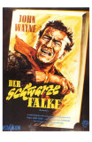 The Searchers, German Movie Poster, 1956 Prints