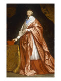 Portrait of Cardinal Richelieu Prints by Philippe De Champaigne