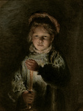 Young Boy Holding a Candle Giclee Print by William Henry Hunt