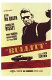 Bullitt, affiche française du film, 1968 Posters