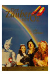 The Wizard of Oz, German Movie Poster, 1939 Posters