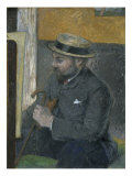 L'Homme Au Canotier Giclee Print by Paul Gaugin