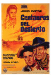 The Searchers, Spanish Movie Poster, 1956 Prints