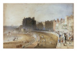 View of the Waterfront at Brighton Giclee Print by George Sidney Shepherd