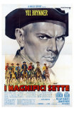 The Magnificent Seven, Italian Movie Poster, 1960 Fotografía