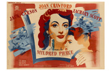 Mildred Pierce, French Movie Poster, 1945 Prints