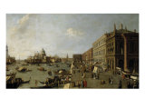 Venice, the Molo looking West Giclee Print by  Canaletto