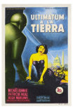 The Day The Earth Stood Still, Spanish Movie Poster, 1951 Prints
