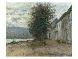 Bord de la Seine a Lavacourt, 1878 Affiches par Claude Monet