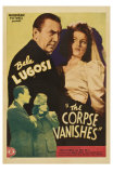 The Corpse Vanishes, 1942 Print