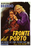 On the Waterfront, Italian Movie Poster, 1954 Posters