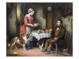 The Keeper's Cottage Impression giclée par George Armfield