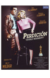 Double Indemnity, Spanish Movie Poster, 1944 Photo