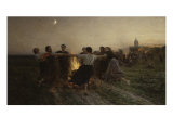 La Saint-Jean, 1875 Prints by Jules Breton