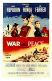 War and Peace, 1956 Print